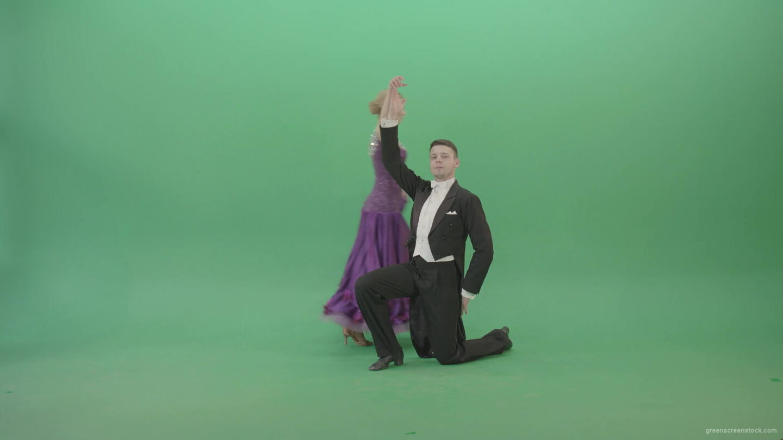 vj video background Elegant-luxury-woman-on-green-screen-dancing-arround-man-4K-Video-Footage-1920_003