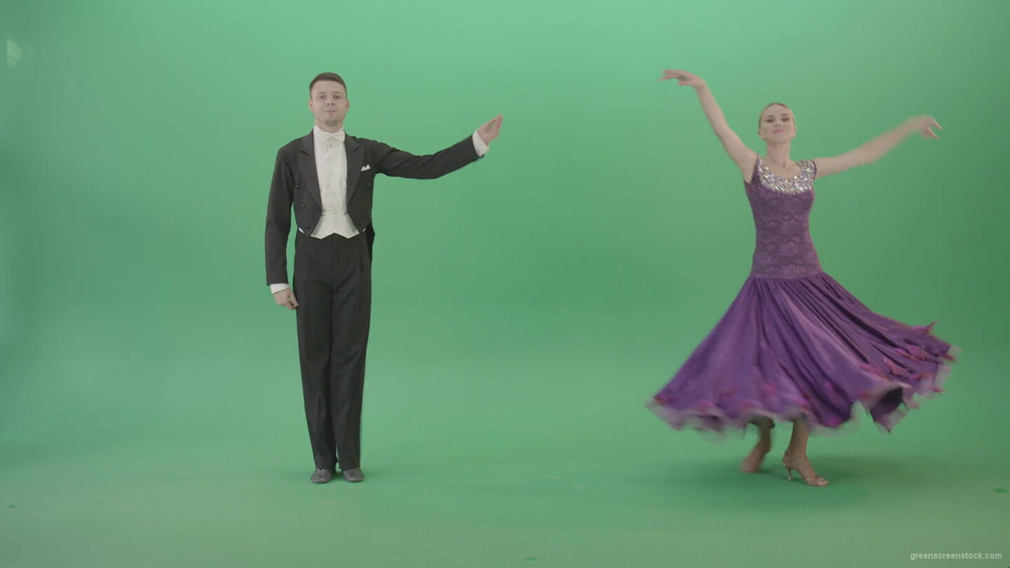 Green-Screen-Ballroom-man-and-woman-making-open-ceremony-reverence-4K-Video-Footage-1920_006 Green Screen Stock