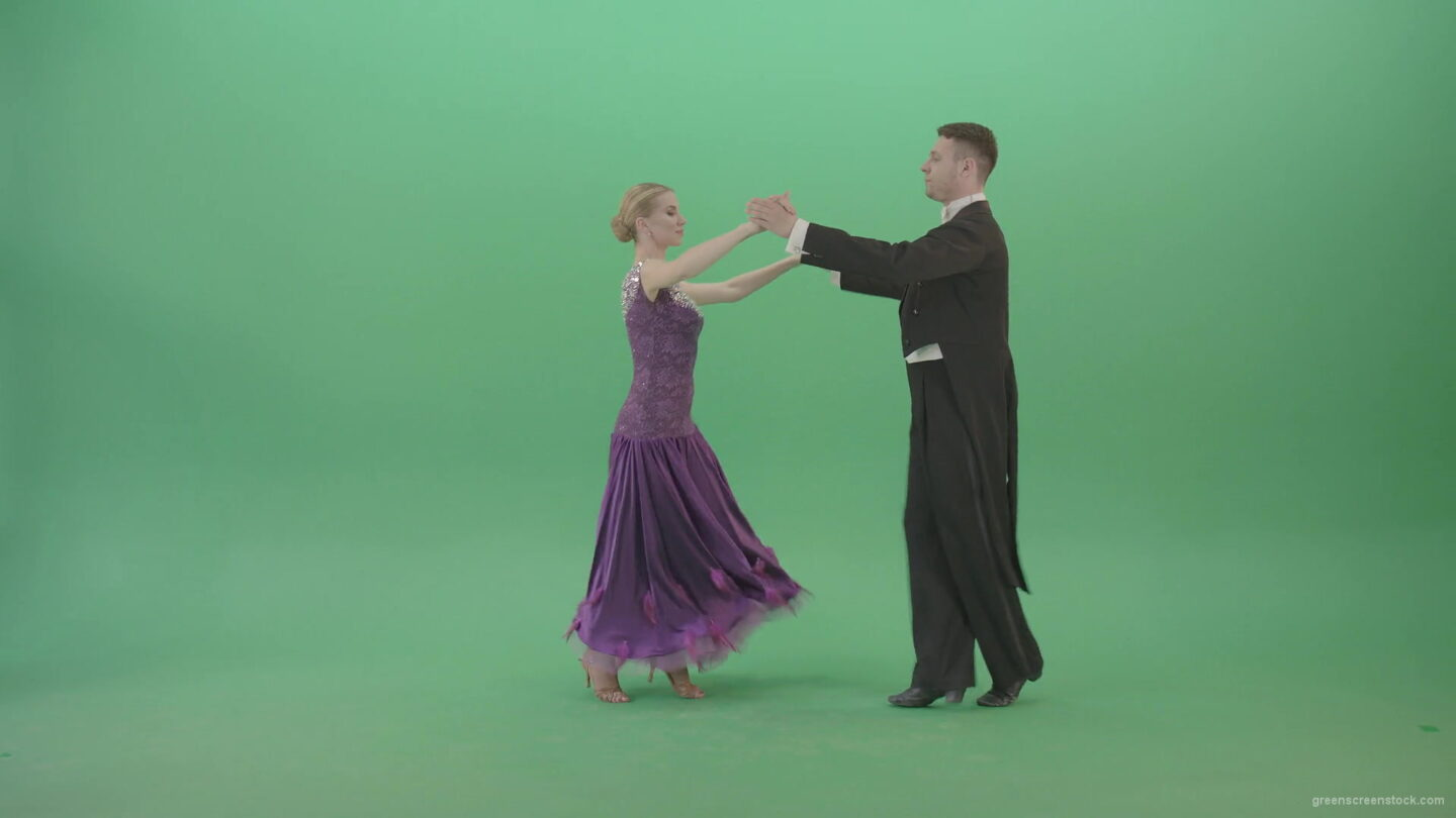 vj video background Lovely-couple-dancing-ballroom-wedding-dance-on-green-screen-4K-Video-Footage-1920_003