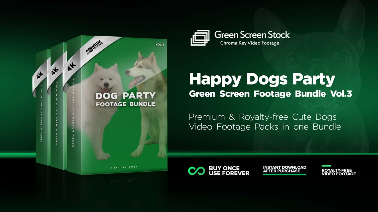 GREEN-SCREEN-Dogs-Party-Bundle-Vol3