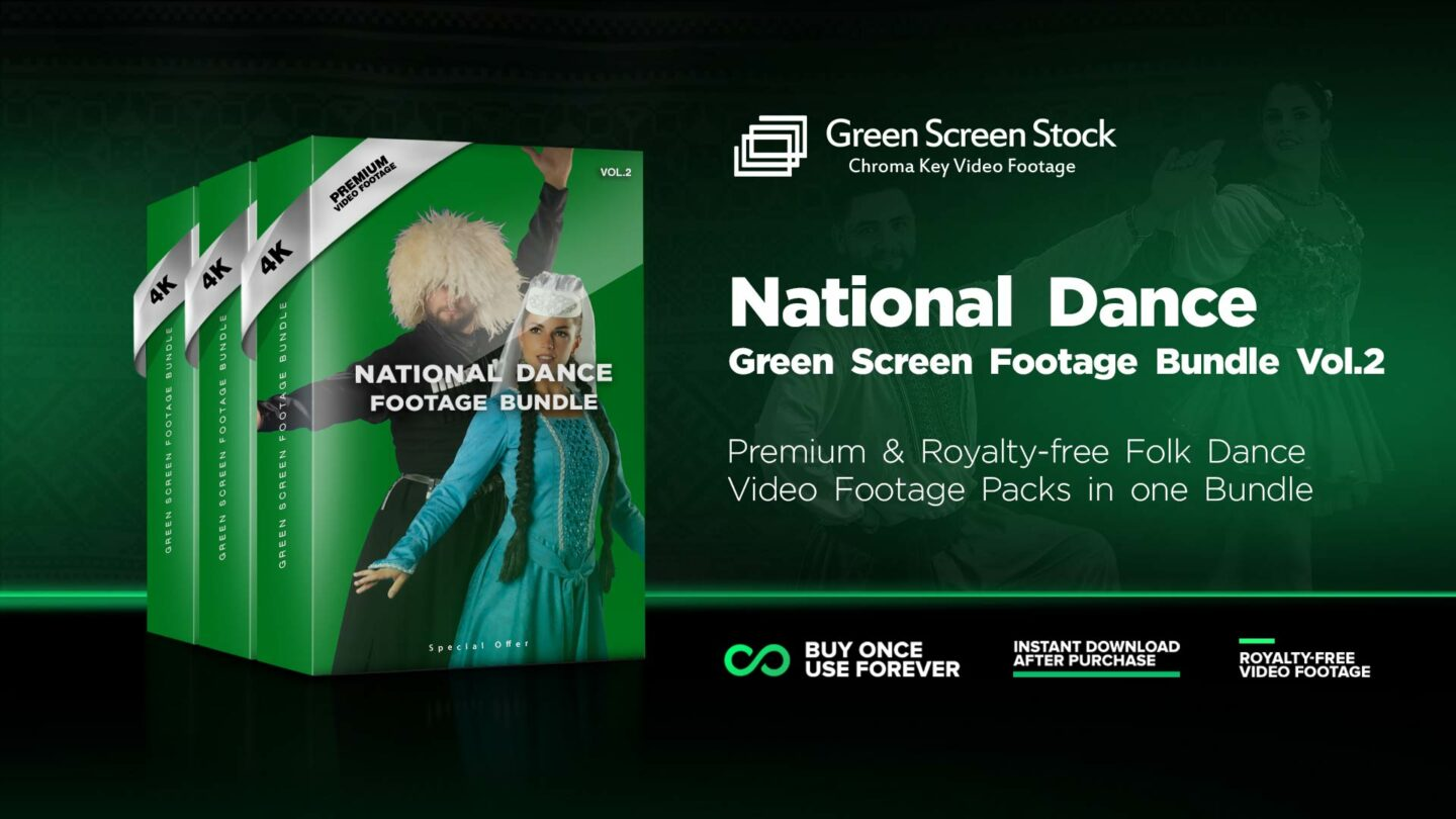 Folk-dance-green-screen-footage