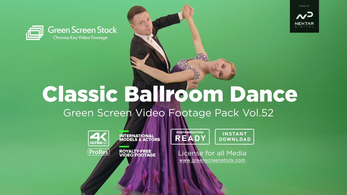 Classic-ballroom-dance-green-screen